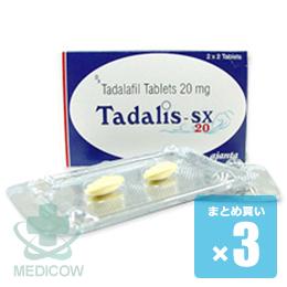 タダリスSX 20mg 12錠